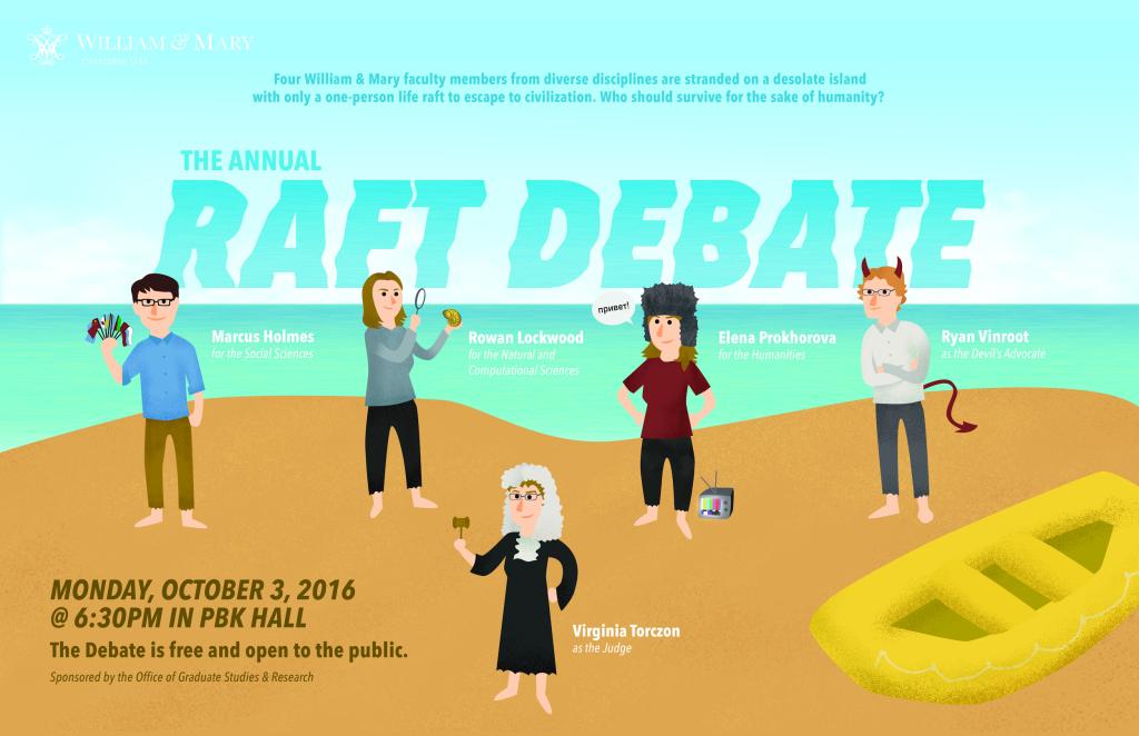 Raft Debate Poster